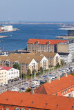 Copenhagen. The beautiful city by the sea Royalty Free Stock Photography