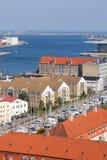 Copenhagen. The beautiful city by the sea royalty free stock photography