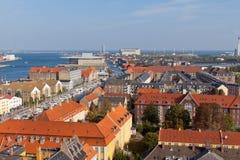 Copenhagen. The beautiful city by the sea royalty free stock image