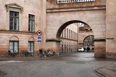 Copenhagen. Old Town - capital city of Denmark. Oresund region Stock Images