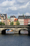 Copenhagen. View from the bridge in Copenhagen Royalty Free Stock Images