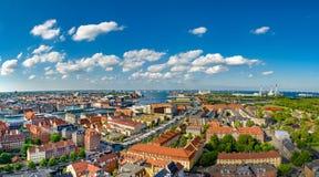 Copenhagen from above Stock Photos
