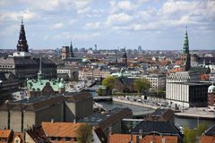 Copenhagen From Above. Copenhagen. Denmark Royalty Free Stock Photos