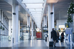 Copenhagen airport Royalty Free Stock Photography