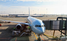 Copenhagen airport Stock Photos