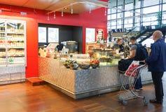 Copenhagen Airport interior Stock Images