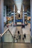 Copenhagen Airport. Copenhagen International Airport Kastrup interior, in Denmark royalty free stock photography