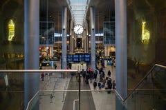 Copenhagen Airport. Copenhagen International Airport Kastrup interior, in Denmark Stock Photo
