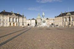 Copenhagen - Amalienborg Palace Stock Image