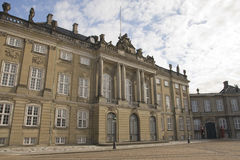 Copenhagen, Amalienborg Stock Photo