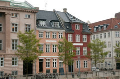 Copenhagen architecture style Royalty Free Stock Photo