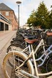 Copenhagen Bike Rack II Stock Images