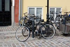 Copenhagen Bikes Stock Image