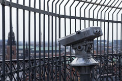 Copenhagen binocular Royalty Free Stock Photography