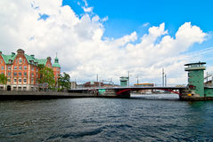 Copenhagen bridge. Royalty Free Stock Image