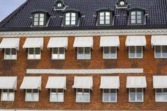 Copenhagen building facade Stock Images