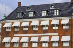Copenhagen building facade Stock Photography