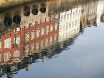 Copenhagen buildings water reflection Stock Images