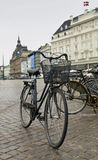 Copenhagen Bycicle. The most common mode of transport in the city Stock Image