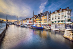 Copenhagen Canal Stock Photo