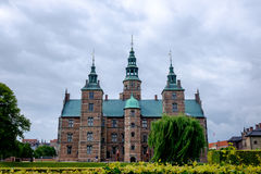 Copenhagen castle stock images