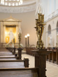 Copenhagen Cathedral Stock Images
