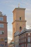 Copenhagen cathedral  tower Stock Photos