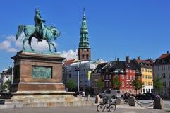 Copenhagen - Cavalier's memorial Stock Photos