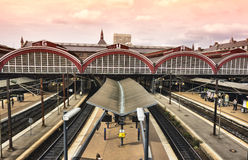 Copenhagen central railway station, Royalty Free Stock Photography