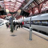 Copenhagen Central Station Royalty Free Stock Images