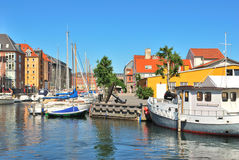Copenhagen,  Christianshavn Royalty Free Stock Photos