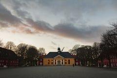 Copenhagen citadel chapel Stock Photo
