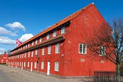 Copenhagen Citadel / Kastellet i København Stock Photography