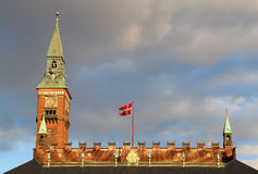 Copenhagen city hall Stock Image