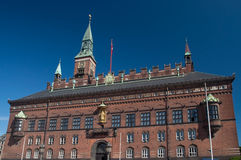 Copenhagen City Hall Royalty Free Stock Images