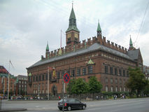 Copenhagen City Hall Royalty Free Stock Photography