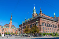 Copenhagen city hall, Denmark Royalty Free Stock Photos