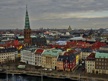 Copenhagen City View Royalty Free Stock Images