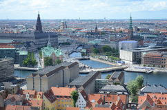 Copenhagen Cityscape Stock Photography