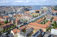 Copenhagen Cityscape Royalty Free Stock Photo