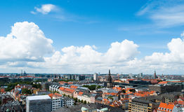 Copenhagen Cityscape Stock Photography