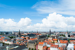 Copenhagen Cityscape Stock Photos
