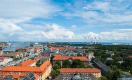 Copenhagen Cityscape Stock Images