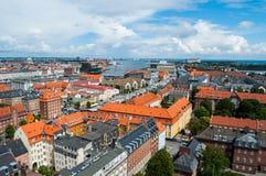 Copenhagen Cityscape Stock Image