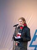 Copenhagen Climate Change Demonstration Stock Images