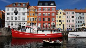 Copenhagen in colours Stock Image