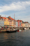 Copenhagen, Denmark. Nyhavn harbour Stock Photos