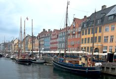 Copenhagen. Denmark. Royalty Free Stock Photography