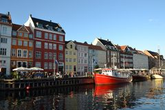 copenhagen Denmark Obraz Royalty Free