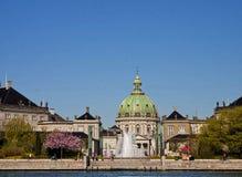 Copenhagen, Denmark, Amalienborg royal residence: Amalie garden Stock Image